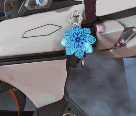Holo-Day Bash 'Snowflake' Weapon Charm