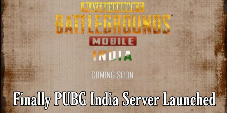 PUBG India Server Launch