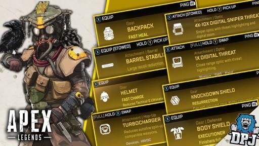 Apex legends legendary items