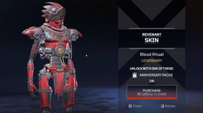 Revenant Blood Ritual New Skins